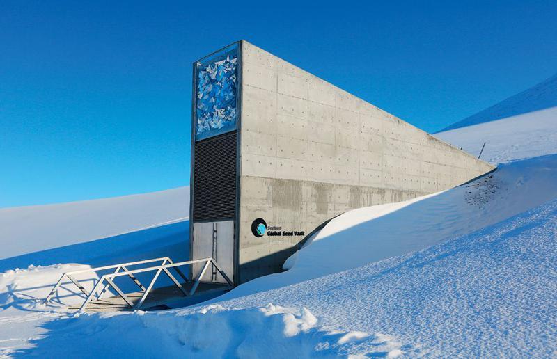 Самое важное место на нашей планете - Всемирное семенохранилище на Шпицбергене.